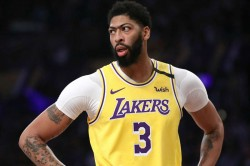 Anthony Davis Los Angeles Lakers Nba Mri Negative Contusion