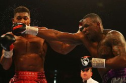 Anthony Joshua Talks Rubbish Dillian Whyte Slams Rival Tyson Fury Sparring Saga