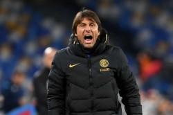 Antonio Conte Inter Beat Napoli 100th Win Serie A Coach