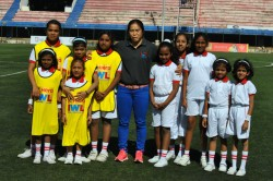 Indian Women S Team Stars Laud Padma Shri Bembem Devi