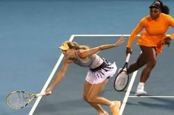 Caroline Wozniacki Retiring Auckland Classic Doubles Defeat Serena Williams Wta