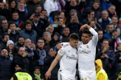 La Liga Real Madrid Make Light Of Absentees To Go Top But Atletico Beaten