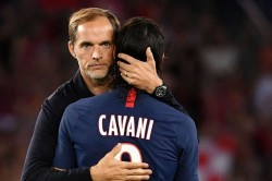 Thomas Tuchel Urges Edinson Cavani Stay At Paris Saint Germain Kylian Mbappe
