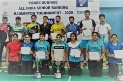Aakarshi Kashyap Mithun Manjunath Win Titles At Yonex Sunrise All India Senior Ranking Tournament