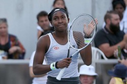 Asb Classic Confident Coco Gauff Edges Towards First Serena Meeting