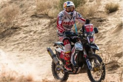 Dakar Rally Hero Motosports Team Riders Off To Cautious Start