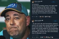 Ex Australia Coach Lehmann Quits Social Media After Vile Hack