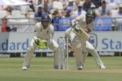 South Africa Opener Elgar Adamant He Didnt Hit Ball After Controversial Dismissal