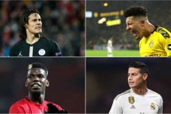 Pogba James Sancho Can And Cavani Transfers To Watch In The January Window