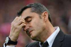Barcelona Ernesto Valverde Leaves Five Games Where It Went Wrong Roma Liverpool Atletico Madrid
