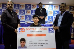 Football Delhi Partners Athletic Drive To Support Referees And Launch Unique Smart Card Initiative
