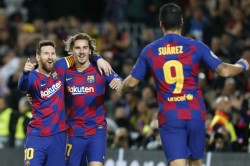 Copa Del Rey Barcelona Real Madrid Enter Last