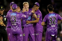 Big Bash League Wade And Wright Star Before Ellis Holds His Nerve As Hurricanes Edge Out Renegades