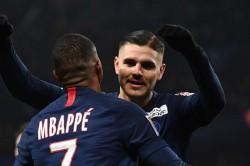 Paris Saint Germain 6 1 Saint Etienne Couple De La Ligue Mauro Icardi Match Report