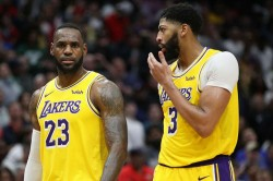 Lebron James Hopeful Anthony Davis Injury Los Angeles Lakers Nba
