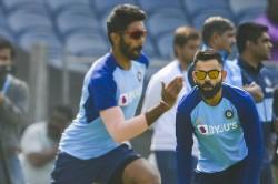 India Vs Australia Jasprit Bumrah Doesn T Shy Away From Hitting Us On Head In Nets Virat Kohli