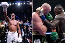 Anthony Joshua Fight Tyson Fury Or Deontay Wilder In Saudi Arabia Says Eddie Hearn