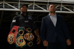 Anthony Joshua Kubrat Pulev Heavyweight Title Deal January