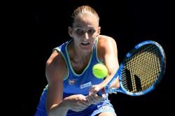 Australian Open 2020 Karolina Pliskova Elina Svitolina Out Simona Halep Through