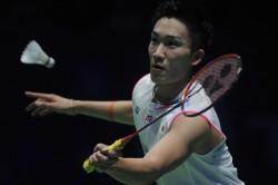 Japan Badminton King Momota Arrives Home After Fatal Car Crash