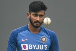 Khaleel Ahmed Ruled Out Of India A Tour Of New Zealand