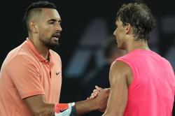 Australian Open 2020 Nick Kyrgios Rafael Nadal