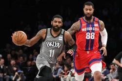 Nba Kyrie Irving Brooklyn Nets Damian Lillard Portland Rockets