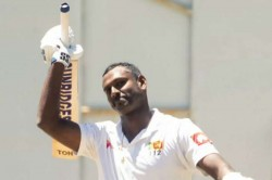 Angelo Mathews Test Double Century Sri Lanka Zimbabwe First Test