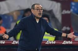 Maurizio Sarri Happy Napoli Juventus Serie A