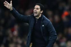 Arsenal Leeds Mikel Arteta Good To Suffer Lacazette Angry Half Time