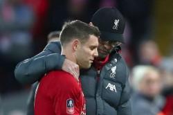 James Milner Injury Not Good Jurgen Klopp Liverpool Everton Fa Cup Merseyside Derby