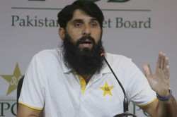 Pakistan Are On The Right Track Says Coach Misbah Ul Haq