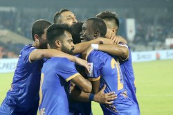 Isl Carlos Winner Keeps Mumbai Fc In Top Four