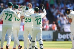 South Africa On Top England Day One Second Test Newlands Ollie Pope Half Century