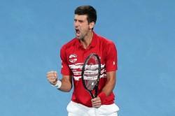 Novak Djokovic Sinks Spain Rafael Nadal Serbia Win Inaugural Atp Cup