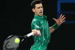 Australian Open 2020 Novak Djokovic Overcomes Wobble To Progress