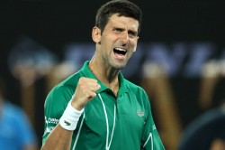 Australian Open 2020 Novak Djokovic Form Eighth Final Melbourne Roger Federer