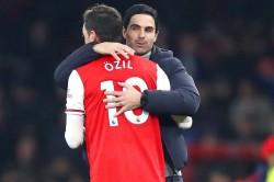 Mesut Ozil Mikel Arteta Arsenal