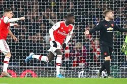 Arsenal Manchester United Nicolas Pepe Sokratis Mikel Arteta