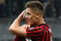 Milan Spal Coppa Italia Match Report Piatek