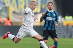 Inter Cagliari Serie A Report Ashley Young Assist Radja Nainggolan Goal