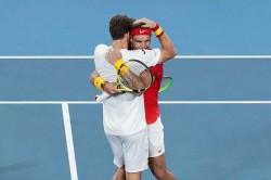Rafael Nadal Atp Cup Doubles Triumph