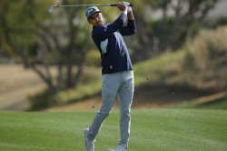 Rickie Fowler Leads Tony Finau 62 California