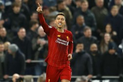 Premier League Tottenham 0 1 Liverpool Firmino Keeps Relentless Reds On Track