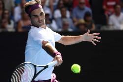 Australian Open 2020 Roger Federer Beats Tennys Sandgren