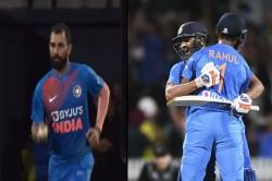 India Vs New Zealand Rohit Sharma Credits Mohammed Shami Final Over For Win
