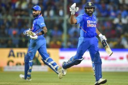 India Vs Australia 3rd Odi Highlights Rohit Sharma Virat Kohli Shine As India Trump Aus Win Series