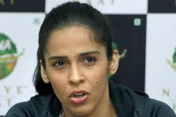 Looking Forward To Work Hard For Country Badminton Star Saina Nehwal Joins Bjp