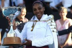 Serena Williams Auckland Open Wta Tour Title Pliskova Brisbane International