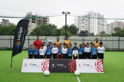 Sevilla Holds La Liga Football Schools Student Event In Pune